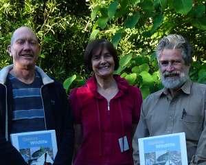 Left: Mr Rodney Kerr, Dr Nita C Lester, Mr Eric Anderson